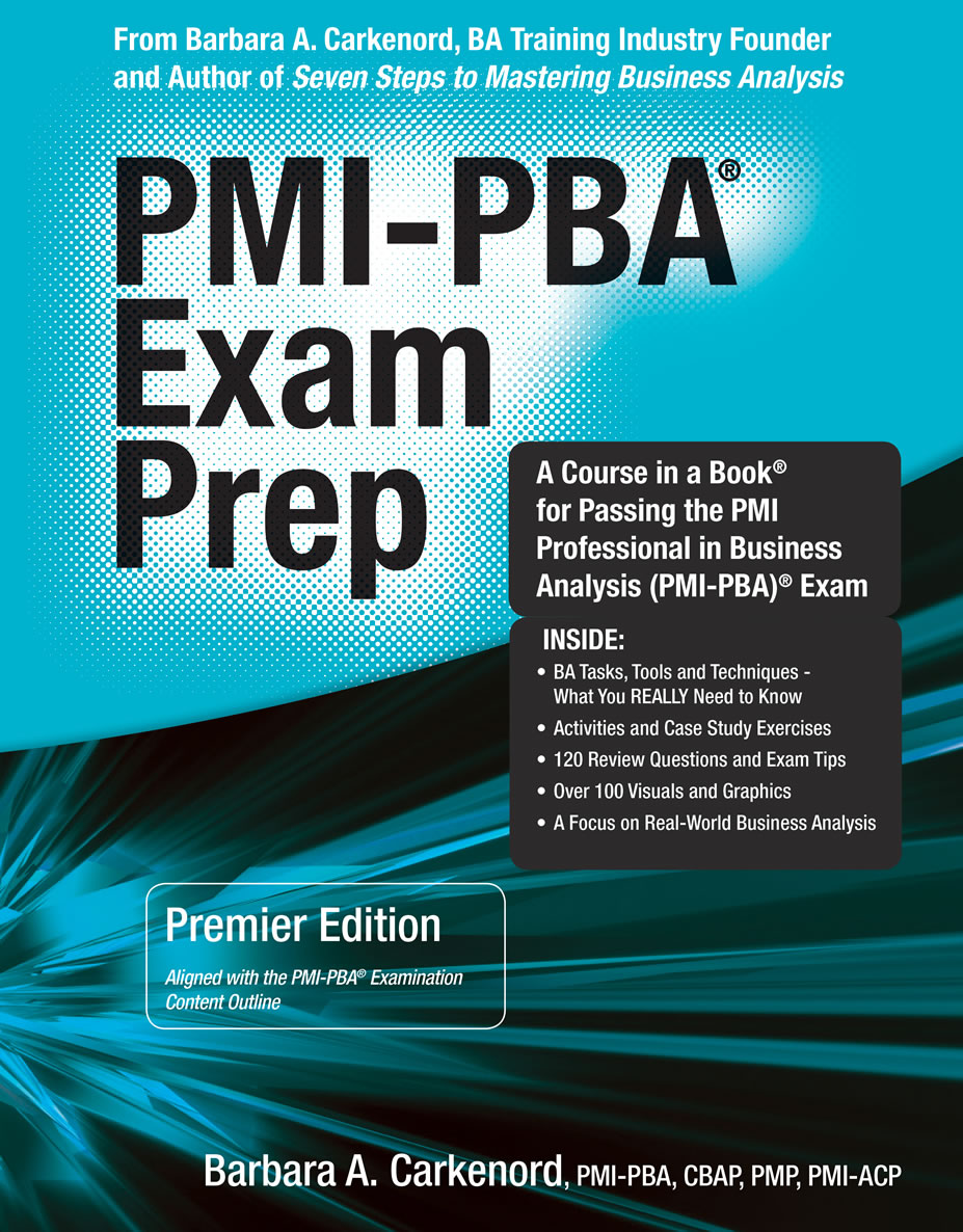 Business Analysis Certifications Pmi Pba Ecba Ccba Cbap
